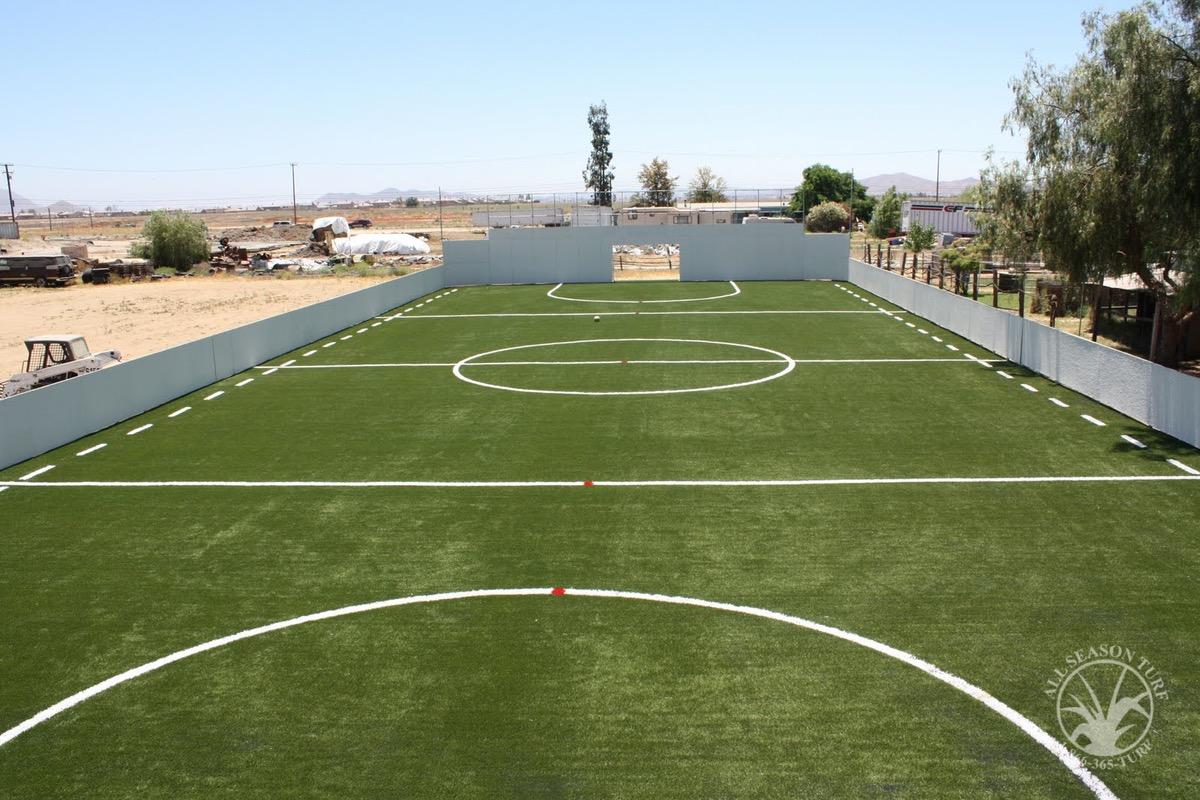 Junior Sports Soccer Field All Season Turf