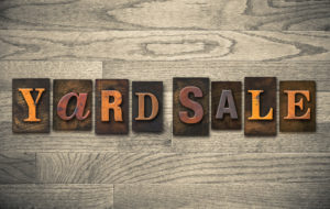 Your Artificial Lawn is the Perfect Spot for a Yard Sale: Learn How to Set It Up