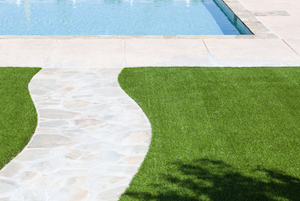 4 Reasons Artificial Grass is the Right Choice for Your Pool Area